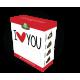 3D Lisovaný čaj - I LOVE YOU