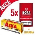 5x Bora 19g + Dutinky Aska 250ks ZDARMA