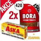 2x Bora 150g + Dutinky Aska 250ks ZDARMA