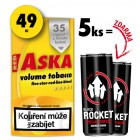 5x Aska 19g + 2x Rocket Energy Drink 250ml ZDARMA