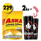 2x Aska 80g + 2x Rocket Energy Drink 250ml ZDARMA