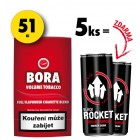 5x Bora 19g + 2x Rocket Energy Drink 250ml ZDARMA
