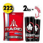2x Rapid 90g + 2x Rocket Energy Drink 250ml ZDARMA