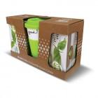 DRINK TO GO Green + BIO zelený a černý čaj