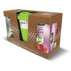 DRINK TO GO Green + BIO černý čaj a BIO Lesní plochy