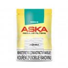 Cigaretové filtry Aska Regular- 100ks - průměr 8mm